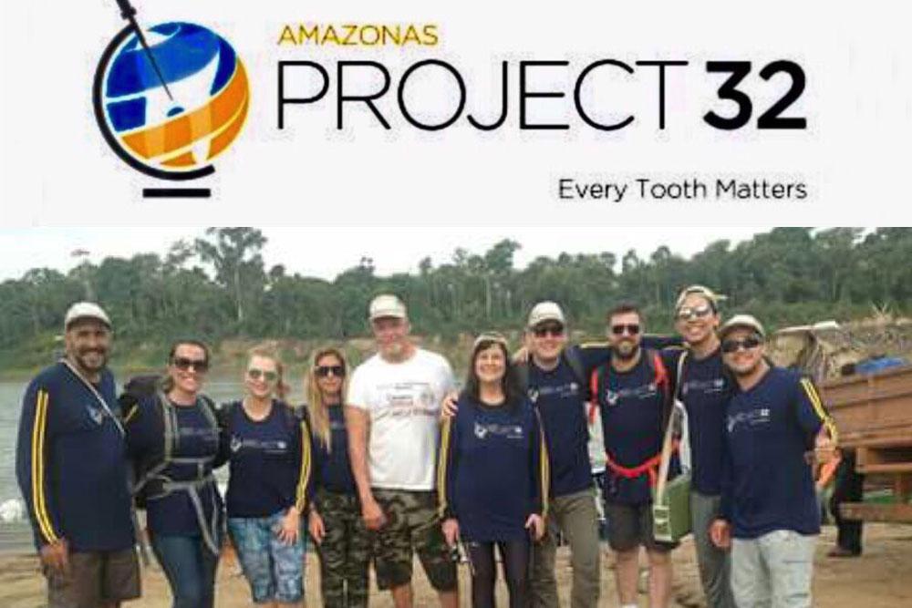 Projeto 32: inclusão social por meio da saúde bucal